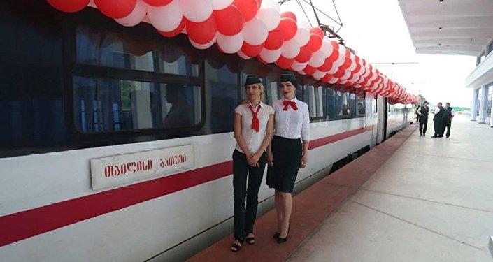 Железнодорожный вокзал в Батуми