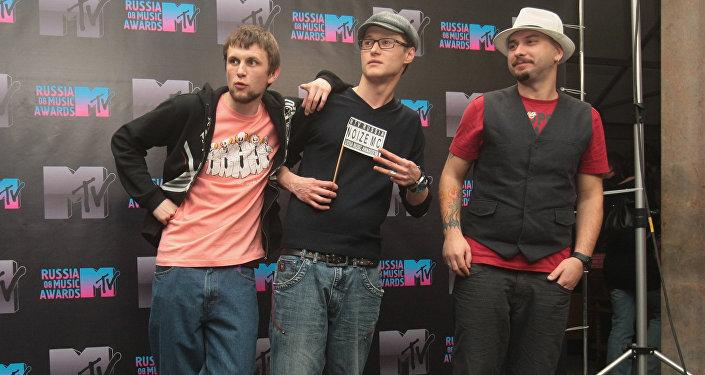 Участники группы «Бумбокс»