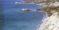 Вид на южное побережье острова Кипр