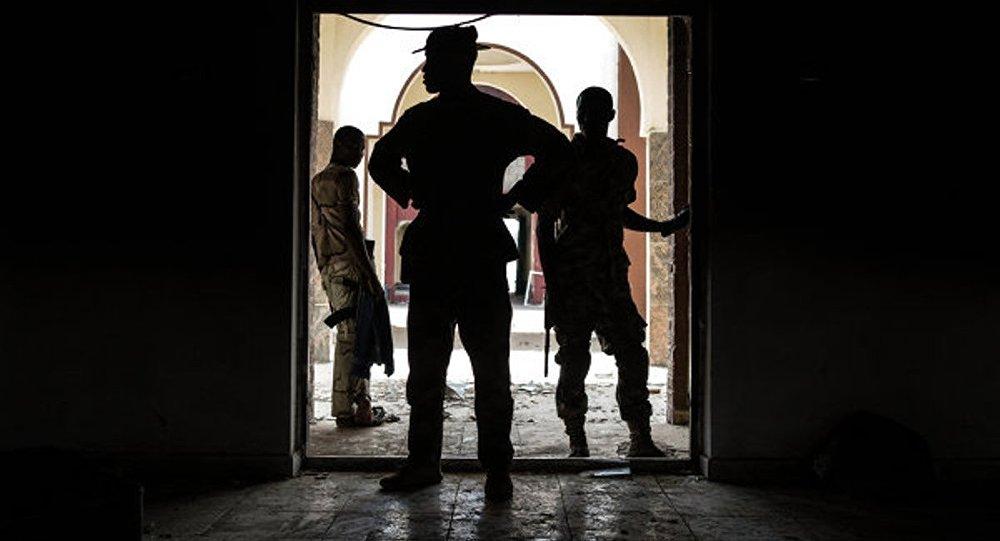 Солдаты нигерийской армии. Архивное фото