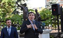 Губернатор Одесской области Михаил Саакашвили встретился с жителями Одессы