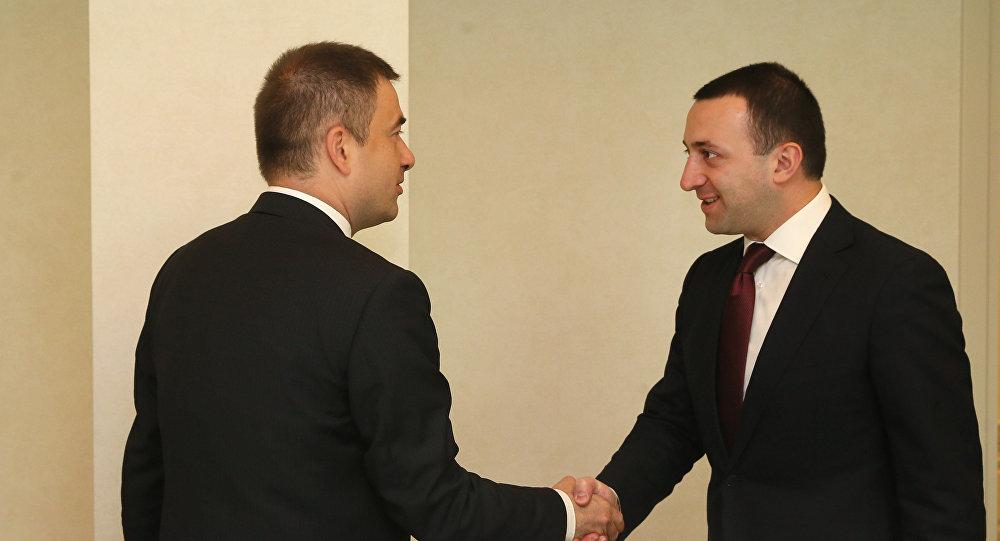 Гарибашвили встретился с новым представителем Совета Европы в Грузии