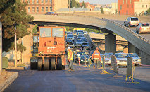 Дороги в центре Тбилиси восстанавливают после наводнения