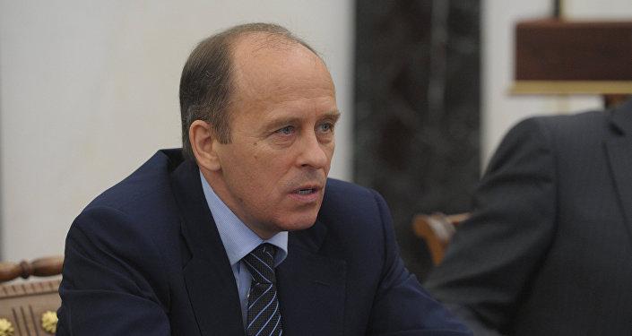 Александр Бортников на заседании Совбеза РФ