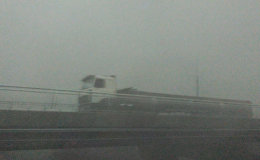 Шквалистый ветер и ливень пронеслись по Минской области