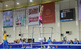 Европейский Молодежный Олимпийский Фестиваль гимнастика