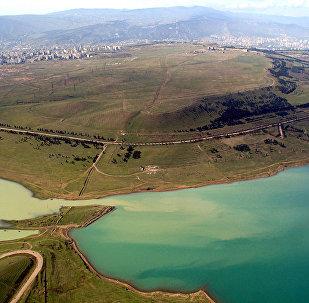 Тбилисское море - водохранилище, расположенное в Тбилиси