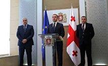 Представление новых министров МВД и пробации