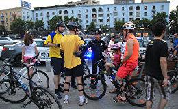 Критическая масса: улицы Тбилиси заполнили десятки велосипедистов