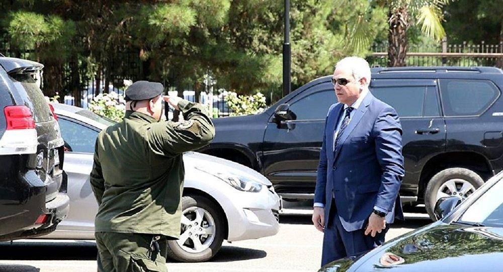 Министр внутренних дел Грузии Георгий Мгебришвили
