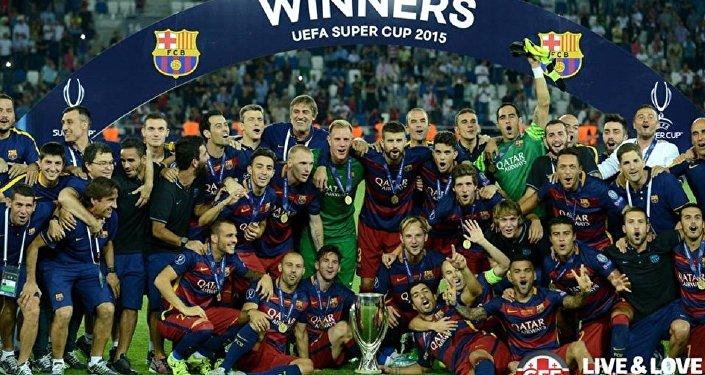 Футбол.Барселона. Суперкубок 2015