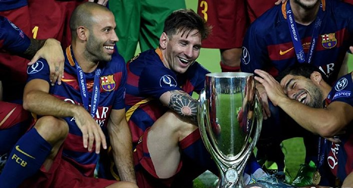 Футбол. Барселона. Суперкубок 2015