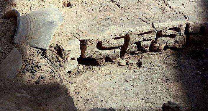 უნიკალური წარწერა, რომელიც საქართველოს არქეოლოგიური ძეგლის გრაკლიანის ტერიტორიაზე აღმოაჩინეს