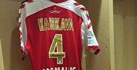 Футбол. Джаба Канкава. Футболка клуба Реймс