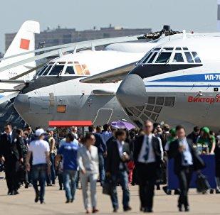 Открытие Международного авиационно-космического салона МАКС
