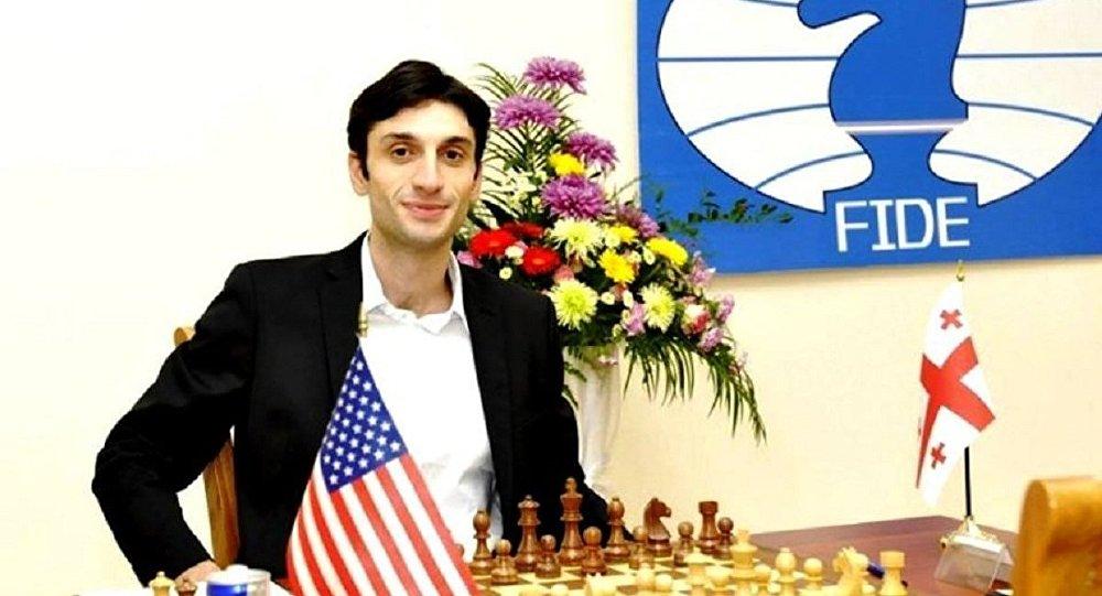 Грузинский шахматист Баадур Джобава