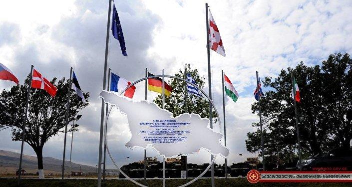 грузинская армия, открытие центра НАТО