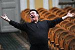 Зураб Соткилава на репетиции оркестра Виртуозы Москвы