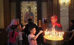 церковь собор Самеба религия верующие