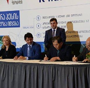 Подписание договоров о строительстве НенскраГЭС