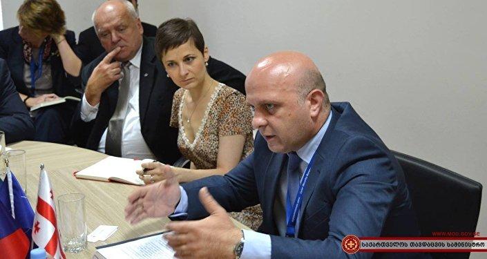 В бюро кибербезопасности Грузии поделились опытом с чешскими коллегами