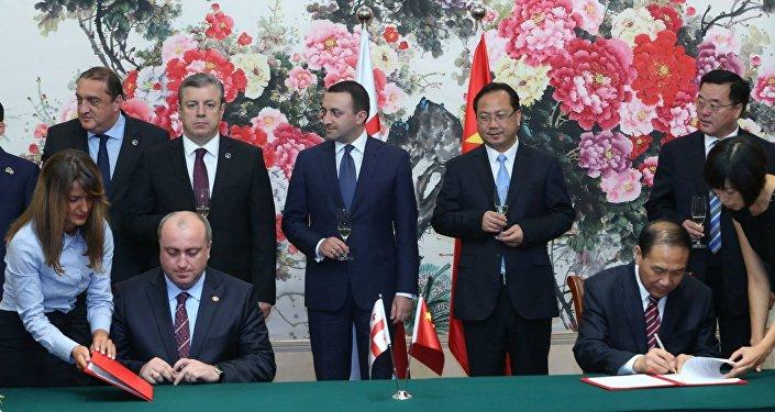 Аджария начнет сотрудничество с китайским городом Далянь