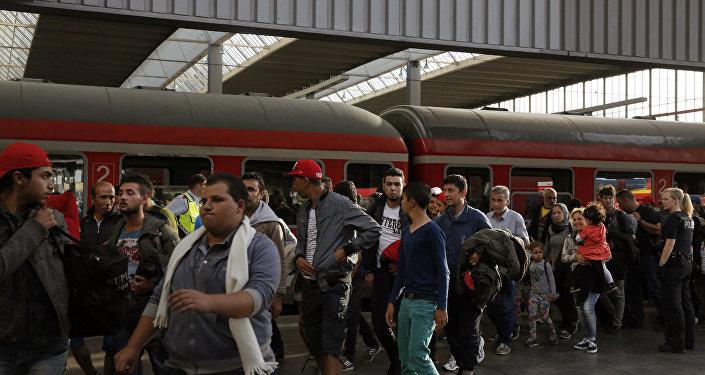 Ситуация с мигрантами в Германии