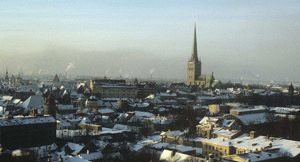 Панорама города Таллина