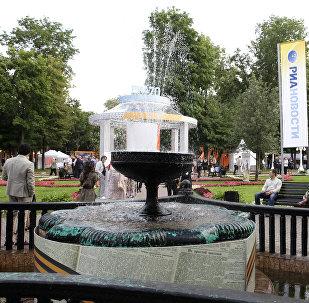 Москва. Сад Эрмитаж
