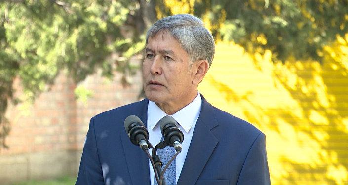 Борьба с ИГ в интересах Кыргызстана: Атамбаев об авиаударах в Сирии