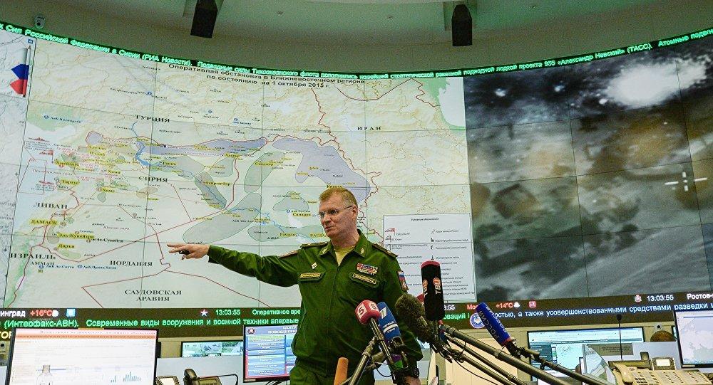 Начальник управления пресс-службы и информации военного ведомства генерал-майор Игорь Конашенков