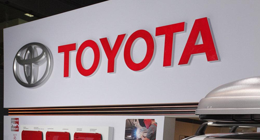 Стенд компании Toyota