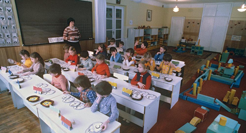 Ребята подготовительной группы детского сада. Архивное фото