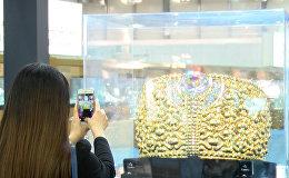 Самое тяжелое в мире золотое кольцо весом 63 кг показали в ОАЭ