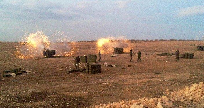 Сирийская армия перешла в наступление против боевиков ИГ на севере провинции Хама
