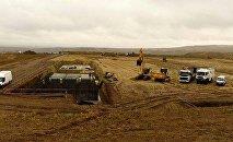Начало строительства подстанции Марнеули 500