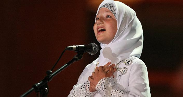 Дочь главы Чеченской республики Рамзана Кадырова Хутмат