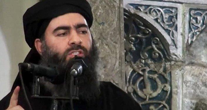 Лидер экстремистской группировки Исламское государство Абу Бакр аль-Багдади