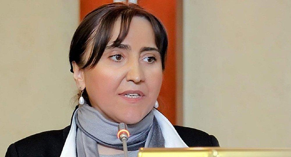 Ирма Инашвили - лидер партии Лига патриотов