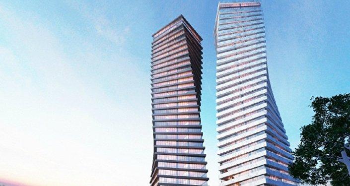 Axis Towers–ის პროექტი