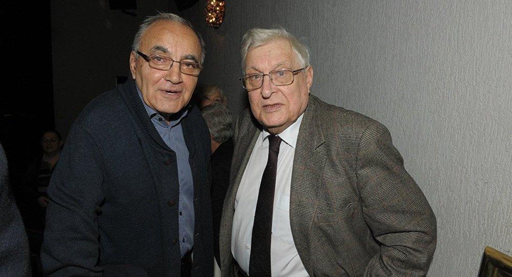 Темур Чхеидзе и Олег Басилашвили