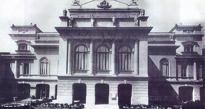 ალ. გრიბოედოვის სახელობის თეატრის ძველი შენობა