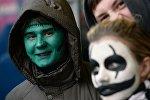 Празднование Хэллоуина