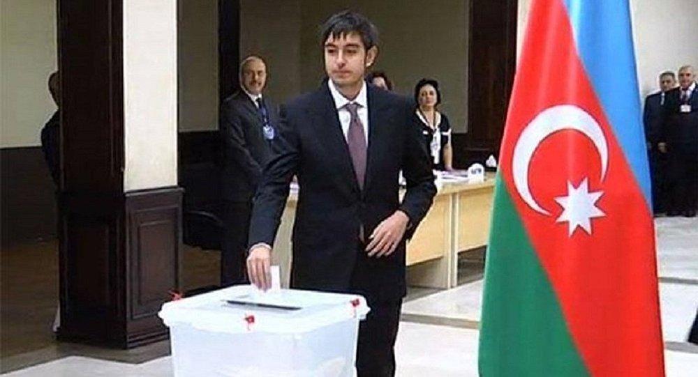 Гейдар Алиев, сын президента Азербайджана Ильхама Алиева