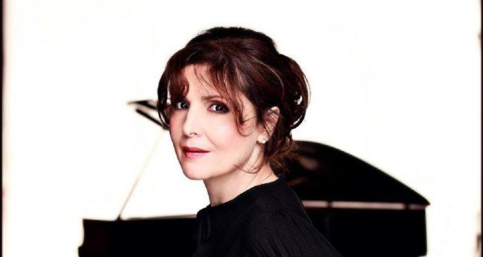 Грузинская пианистка Элисо Болквадзе