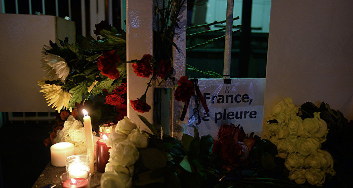 Посольство Франции в Москве, траур