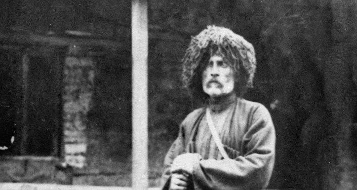 Грузинский писатель и поэт Важа-Пшавела