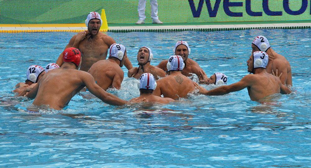 Сборная Грузии по водному поло проиграла второй матч Мировой Лиги