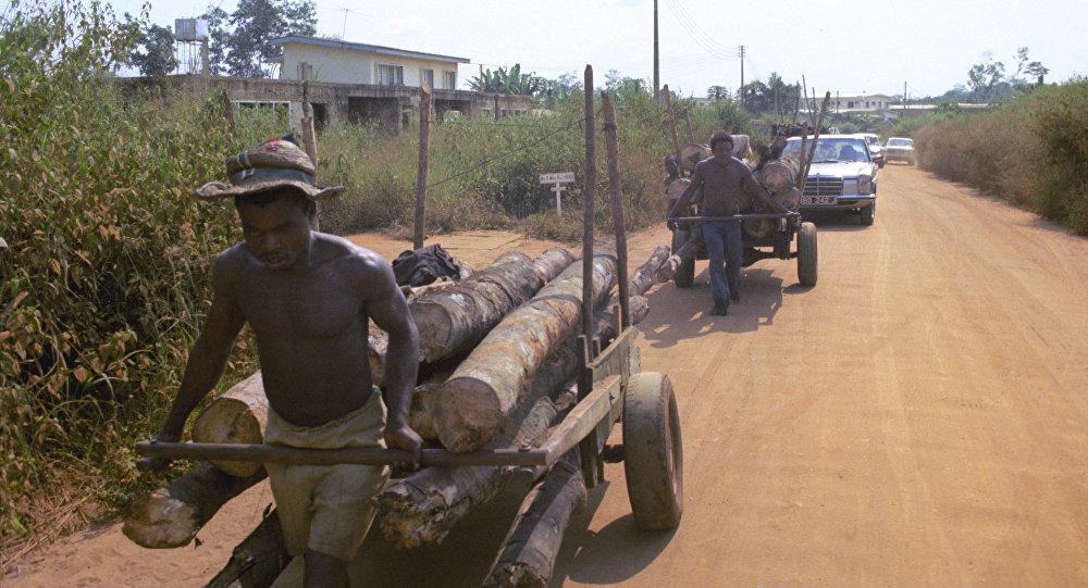Нигерия. Город Бенин