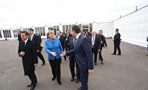 Премьер Грузии встретился с мировыми лидерами в Париже